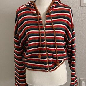 Sweaters - Knit hoodie sweater